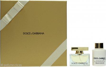 Dolce & Gabbana The One Set de Regalo 50ml EDP + 100ml Loción Corporal