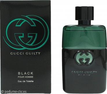 Gucci Guilty Black Pour Homme Eau de Toilette 50ml Vaporizador
