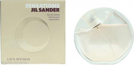 Jil Sander Sensations Eau de Toilette 40ml Vaporizador