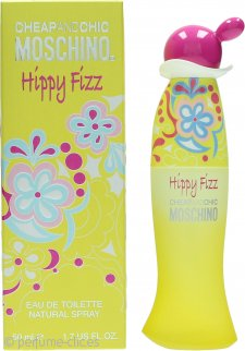 Moschino Cheap & Chic Hippy Fizz Eau de Toilette 50ml Vaporizador
