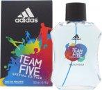 Adidas Team Five Eau De Toilette 100ml Vaporizador