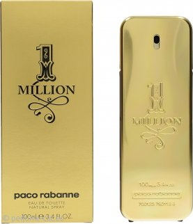 Paco Rabanne 1 Million Eau De Toilette 100ml Vaporizador