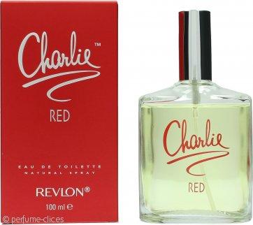 Revlon Charlie Red Eau de Toilette 100ml Vaporizador