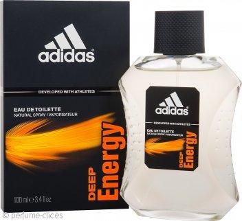 Adidas Deep Energy Eau de Toilette 100ml Vaporizador