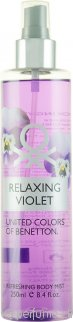 Benetton Relaxing Violet Rocío Corporal 250ml
