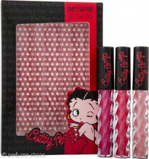 Betty Boop Betty Boop Set de Regalo 3x Brillo Labial