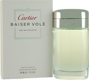 Cartier Baiser Vole Eau de Toilette 100ml Vaporizador