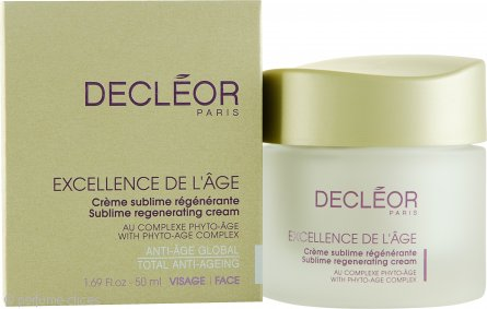 Decleor Excellence de l'Age Sublime Crema Regeneradora 50ml