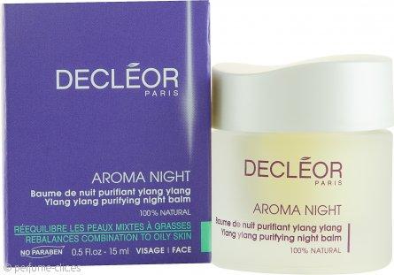 Decleor Aroma Night Bálsamo Nocturno Ylang Ylang Purificante (Piel Grasa y Mixta) 15ml