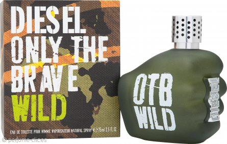 Diesel Only The Brave Wild Eau de Toilette 75ml Vaporizador
