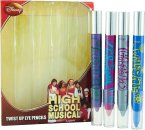 Disney High School Musical Set de Regalo 4 Lápiz De Ojos De Giro