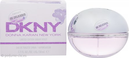 DKNY Be Delicious City Blossom Urban Violet Eau de Toilette 50ml EDT Vaporizador