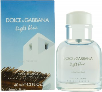 Dolce & Gabbana Light Blue Living Stromboli Eau de Toilette 40ml Vaporizador