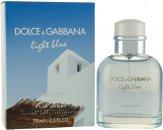 Dolce & Gabbana Light Blue Living Stromboli Eau de Toilette 75ml Vaporizador
