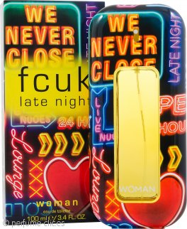 FCUK Late Night Woman Eau de Toilette 100ml Vaporizador