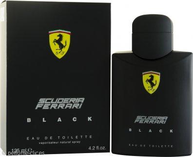 Ferrari Scuderia Ferrari Black Eau de Toilette 125ml Vaporizador
