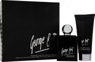 George Best Silver Edition Set de Regalo 100ml EDT Vaporizador + 100ml Gel de Pelo y Cuerpo