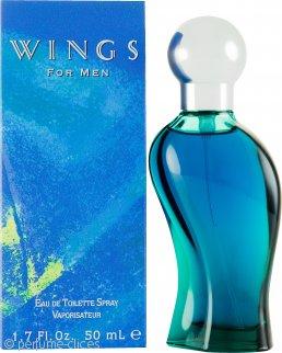 Giorgio Beverly Hills Wings for Men Eau De Toilette 50ml Vaporizador