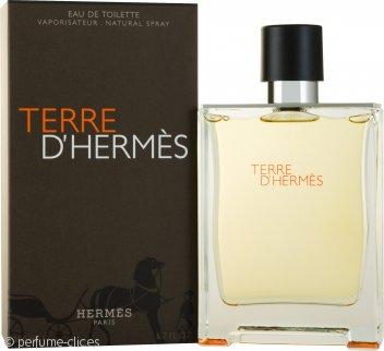 Hermes Terre D'Hermes Eau De Toilette 200ml Vaporizador