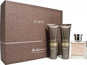 Baldessarini Ambré Set de Regalo 50ml EDT + 50ml Gel De Ducha + 50ml Bálsamo Aftershave