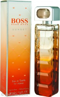 Hugo Boss Boss Orange Sunset Eau de Toilette 50ml Vaporizador