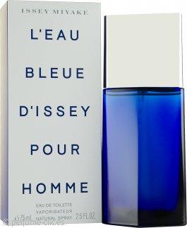 Issey Miyake L'Eau Bleue d'Issey Pour Homme Eau de Toilette 75ml Vaporizador