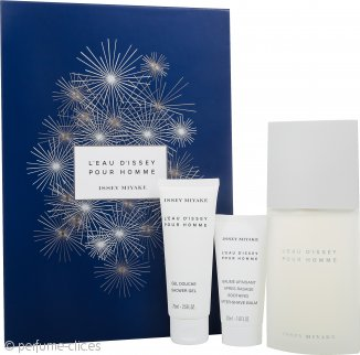 Issey Miyake L'Eau d'Issey Pour Homme Set de Regalo 125ml EDT + 75ml Gel de Ducha + 50ml Bálsamo Aftershave