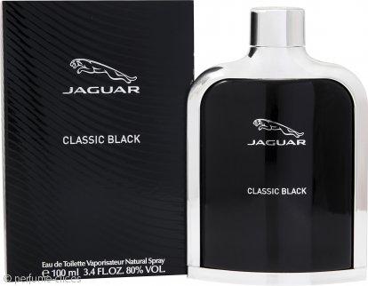 Jaguar Classic Black Eau de Toilette 100ml Vaporizador