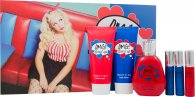 Jigsaw OMG! Loved Up Set de Regalo 100ml EDT + 150ml Loción Corporal + 150ml Gel de Ducha + 3 x 20ml Vaporizador de Bolso