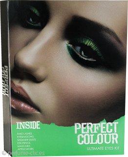 Jigsaw Perfect Colour Kit Definitivo de Ojos 28 Piezas – Sombras de Ojos + Polvo Brillo + Rímel + Lápices de Ojos + Pestañas Postizas + Aplicadores