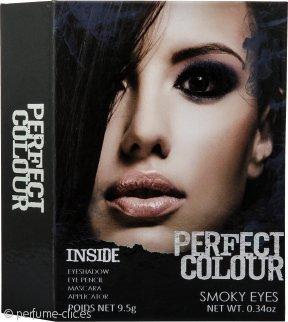 Jigsaw Perfect Colour Smoky Eyes Set de Maquillaje 8 Piezas (Sombra de Ojos + Lápiz de Ojos + Rímel + Aplicador)