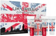 Jigsaw UK Urban City Edition Set de Regalo 100ml EDT + 100ml Gel de Afeitado + 100ml Bálsamo Aftershave + 100ml Gel de Ducha + 2 x 20ml Vaporizador de Viaje