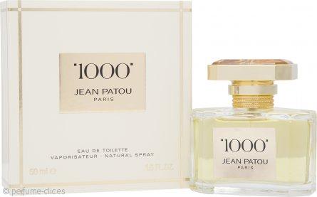 Jean Patou 1000 Eau de Toilette 50ml Vaporizador