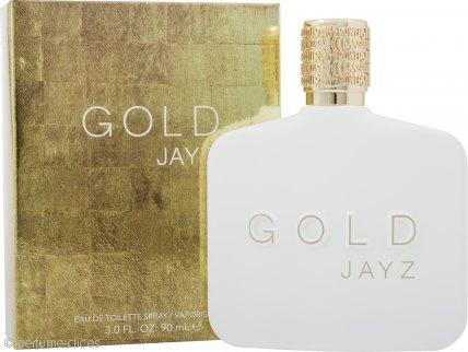 Jay Z Gold Eau de Toilette 90ml Vaporizador
