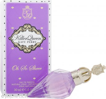 Katy Perry Killer Queen Oh So Sheer Eau de Parfum 30ml Vaporizador