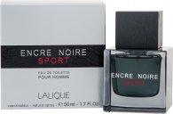 Lalique Encre Noire Sport Eau De Toilette 50ml Vaporizador