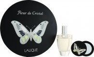Lalique Fleur De Cristal Set de Regalo 100ml EDP + Espejo
