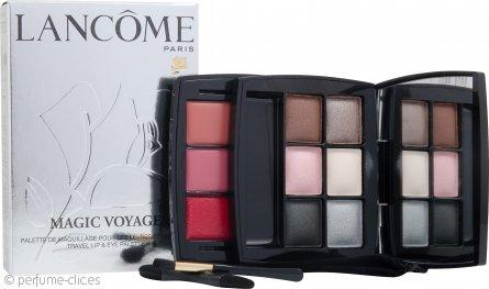Lancome Magic Voyage Paleta para Labios y Ojos de Viaje 6x Sombras de Ojos + 3x Colores de Labios + 2x Aplicadores
