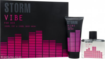 STORM Vibe Set de Regalo 100ml EDT + 150ml Gel de Ducha