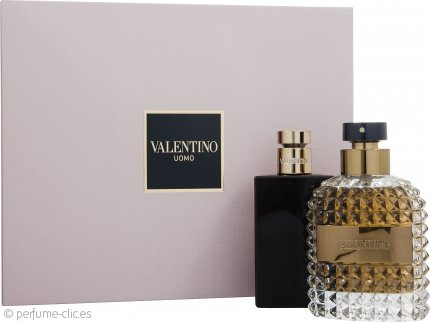 Valentino Uomo Set de Regalo 100ml EDT + 100ml Bálsamo Aftershave
