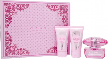 Bright Crystal Absolu Set de Regalo 50ml EDP + 50ml Loción Corporal + 50ml Gel de Ducha