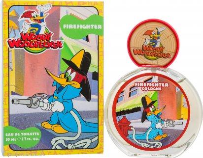 Woody Woodpecker Fire Fighter Eau De Toilette 50ml Vaporizador