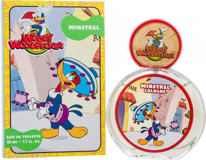 Woody Woodpecker Minstrel Eau De Toilette 50ml Vaporizador