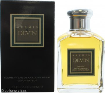 Aramis Devin Country Eau de Cologne 100ml Vaporizador