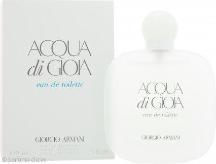 Giorgio Armani Acqua di Gioia Eau de Toilette 50ml Vaporizador