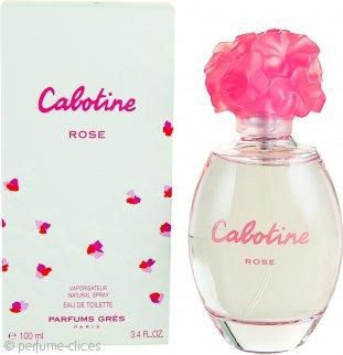 Gres Parfums Cabotine Rose Eau De Toilette 100ml Vaporizador
