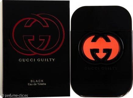 Gucci Guilty Black Pour Femme Eau de Toilette 75ml Vaporizador