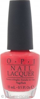 OPI Holland Collection Nail Polish 15ml - Red Lights Ahead Where 136