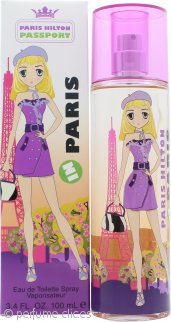 Paris Hilton Passport Paris Eau de Toilette 100ml Vaporizador