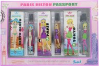 Paris Hilton Passport Set de Regalo 3 x 7.5ml EDT (Tokio - París - South Beach)